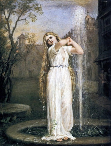 Undine by John William Waterhouse (1872). Image from Victorian British Painting