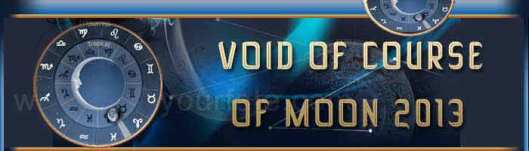 Void of Course Moon/Courtesy of Find Your Fate