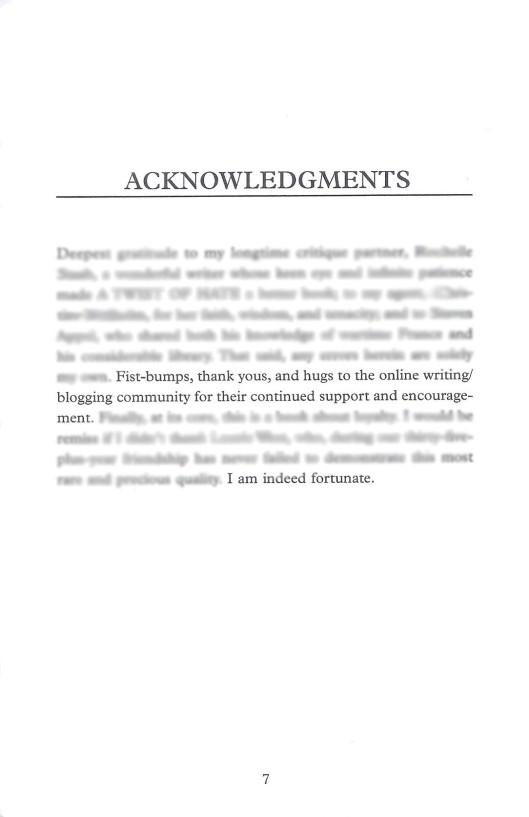 AcknowledgmentsBlur